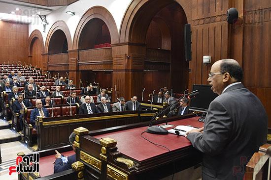 اجتماعات اللجنة البرلمانية لمناقشة أزمة الأمطار (19)