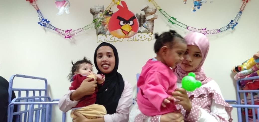 الاحتفال بعيد الطفولة بمركز رعاية الأطفال بأسوان  (3)
