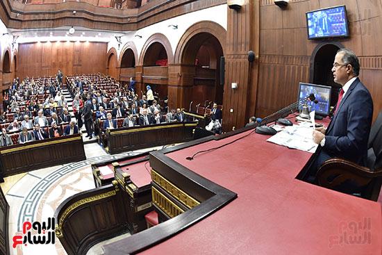 اجتماعات اللجنة البرلمانية لمناقشة أزمة الأمطار (4)
