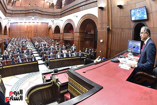 اجتماعات اللجنة البرلمانية لمناقشة أزمة الأمطار (13)