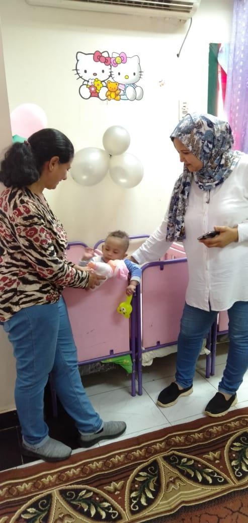 الاحتفال بعيد الطفولة بمركز رعاية الأطفال بأسوان  (7)