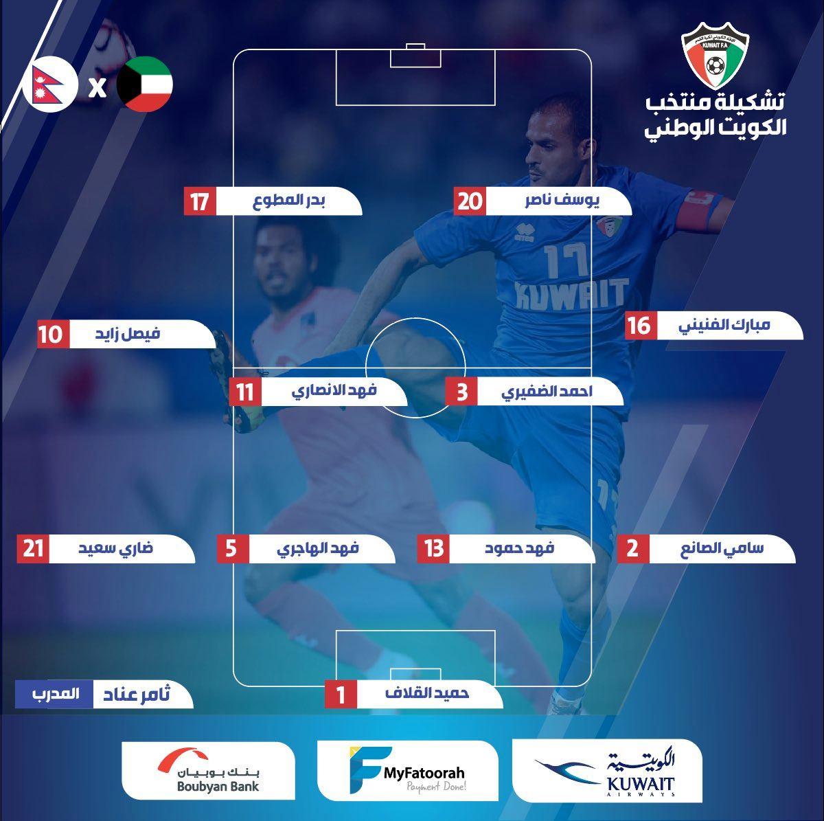 تشكيل الكويت