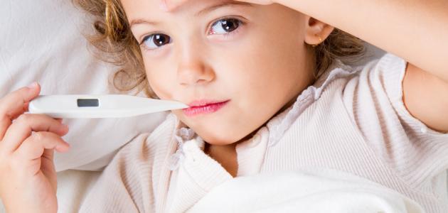 اسباب ارتفاع حرارة الجسم عند الاطفال 2