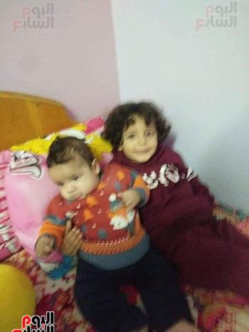 الطفلين-شادى-شادى-الأمير-وشقيقه-يازن-داخل-دار-الرعاية-بطنطا-(1)