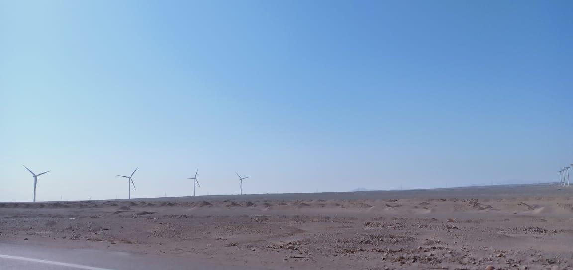 اكبر محطة رياح بالعالم بجبل الزيت  (4)