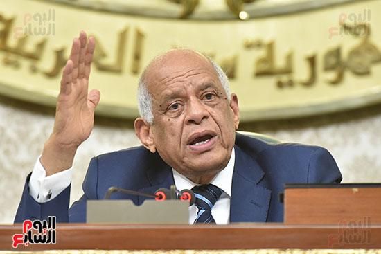 جلسة مجلس النواب برئاسة الدكتور على عبد العال (15)