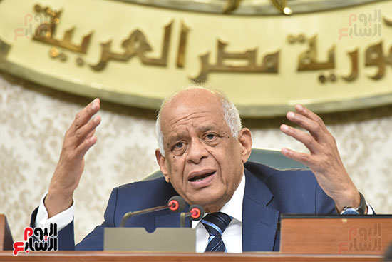 جلسة مجلس النواب برئاسة الدكتور على عبد العال (13)