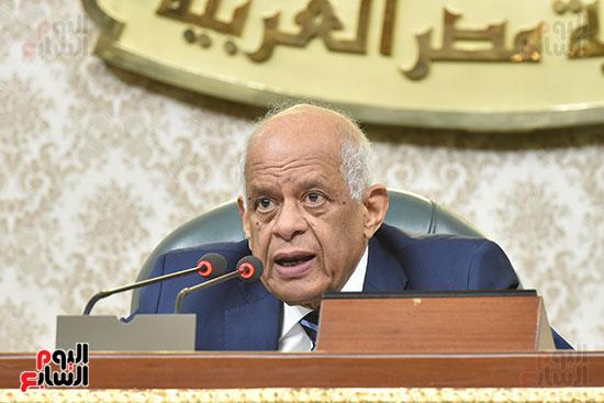 جلسة مجلس النواب برئاسة الدكتور على عبد العال (4)