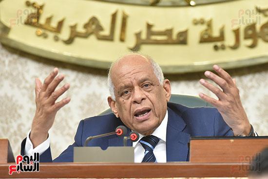 جلسة مجلس النواب برئاسة الدكتور على عبد العال (14)