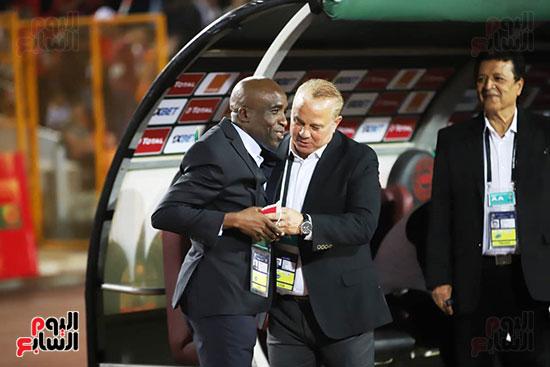 مباراة منتخب مصر الأوليمبي وجنوب أفريقيا (13)