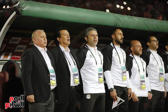 مباراة منتخب مصر الأوليمبي وجنوب أفريقيا (1)