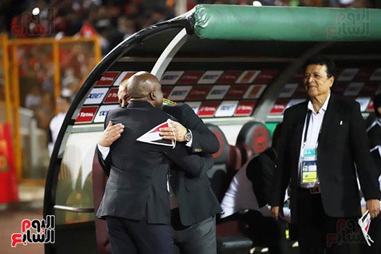 مباراة منتخب مصر الأوليمبي وجنوب أفريقيا (10)