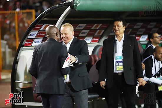 مباراة منتخب مصر الأوليمبي وجنوب أفريقيا (11)