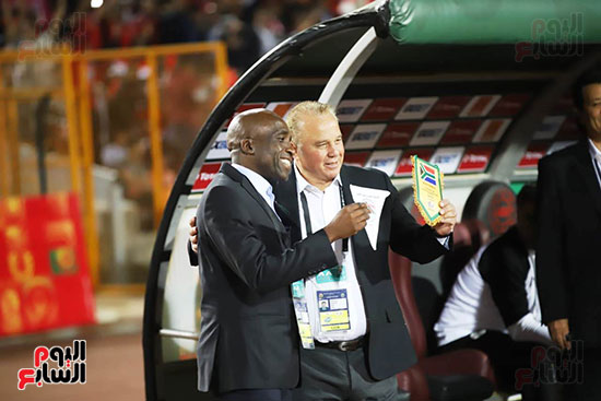 مباراة منتخب مصر الأوليمبي وجنوب أفريقيا (7)