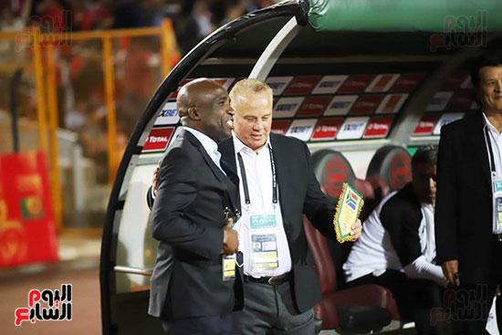 مباراة منتخب مصر الأوليمبي وجنوب أفريقيا (5)
