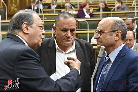 جلسة مجلس النواب برئاسة الدكتور على عبد العال (22)