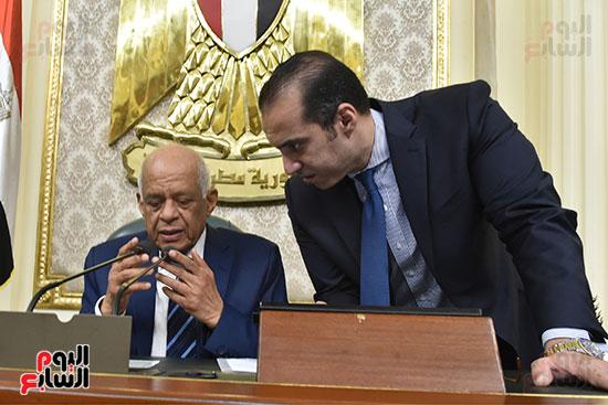 جلسة مجلس النواب برئاسة الدكتور على عبد العال (26)