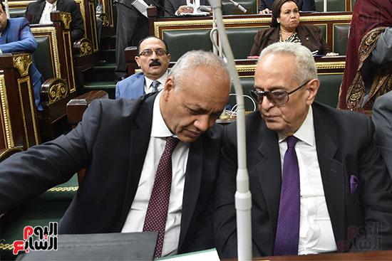 جلسة مجلس النواب برئاسة الدكتور على عبد العال (11)
