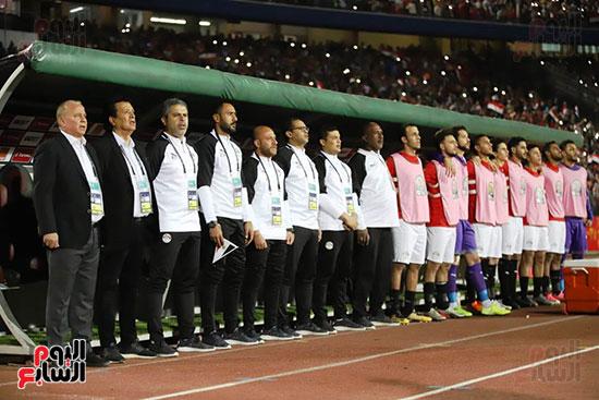 مباراة منتخب مصر الأوليمبي وجنوب أفريقيا (4)