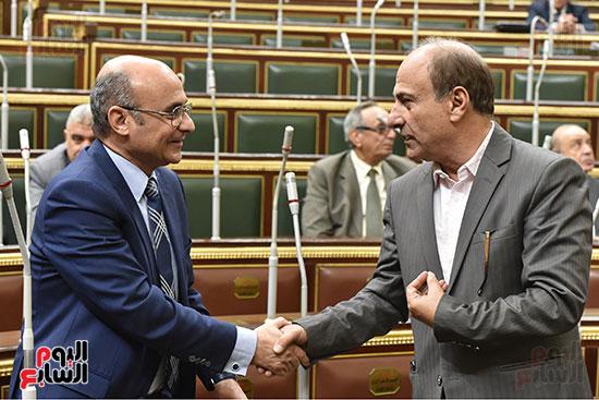 جلسة مجلس النواب برئاسة الدكتور على عبد العال (1)