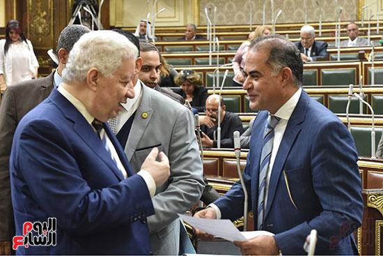 جلسة مجلس النواب برئاسة الدكتور على عبد العال (6)