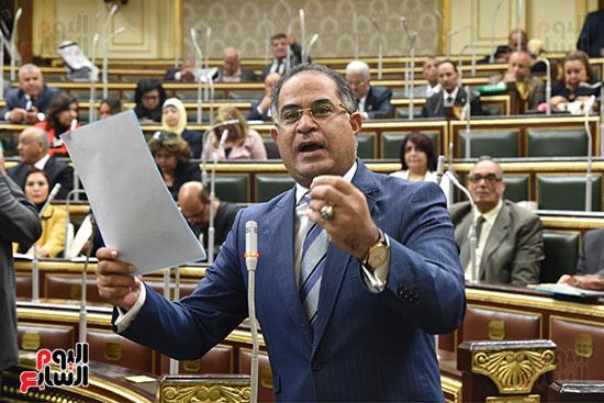 جلسة مجلس النواب برئاسة الدكتور على عبد العال (9)