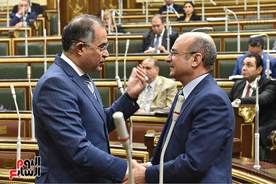 جلسة مجلس النواب برئاسة الدكتور على عبد العال (2)