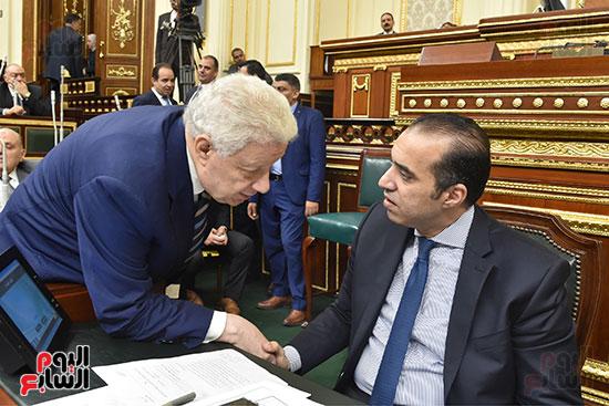 جلسة مجلس النواب برئاسة الدكتور على عبد العال (7)
