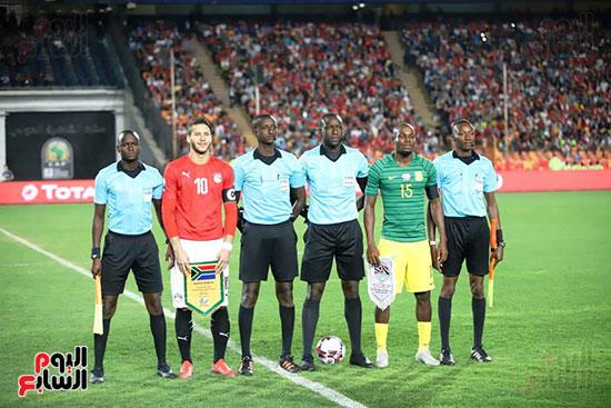 مباراة منتخب مصر الأوليمبي وجنوب أفريقيا (9)