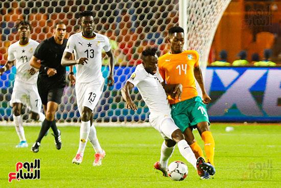 غانا وكوت ديفوار الاولمبى (10)