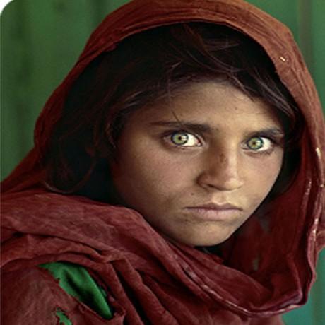 الفتاة الافغانية