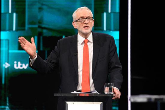 زعيم المعارضة البريطانية كوربين