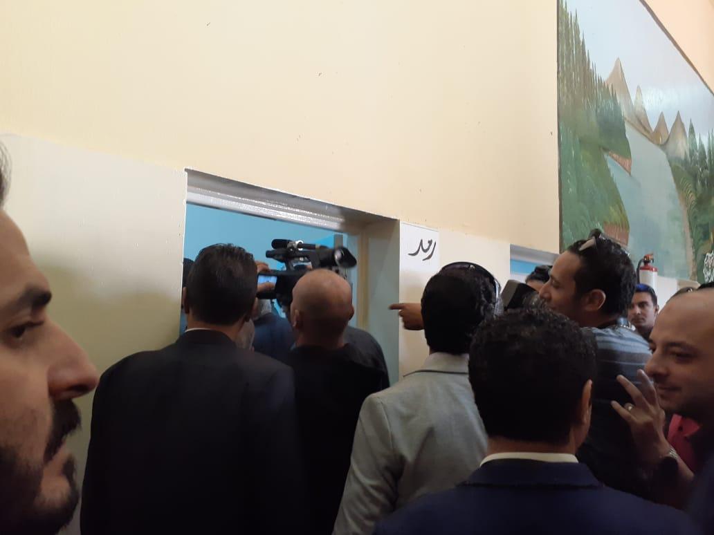زيارة وفد البرلمان وحقوق الإنسان لسجن برج العرب (6)