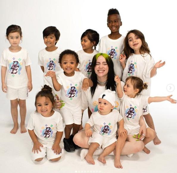 ايليش مع الموديلز الأطفال