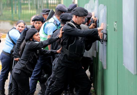 قوات الأمن فى نيكارجوا