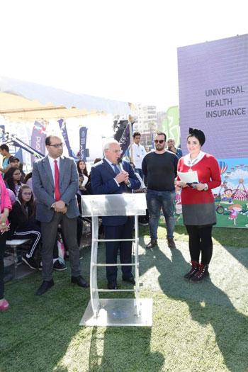 محافظ بورسعيد يشهد احتفال يوم الطفل العالمى (3)