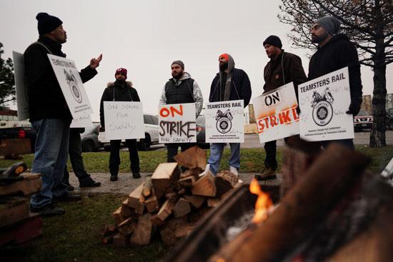 جانب من الإضراب (2)