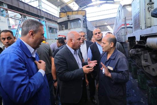 المهندس كامل الوزير وزير النقل (8)