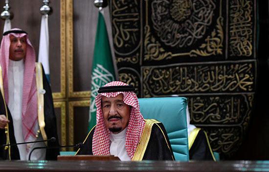 الملك سلمان بن عبدالعزيز خلال كلمته بمجلس الشورى