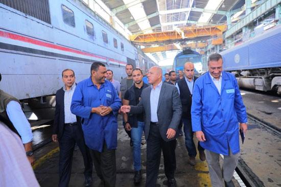 المهندس كامل الوزير وزير النقل (7)
