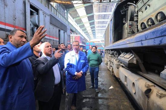 المهندس كامل الوزير وزير النقل (3)