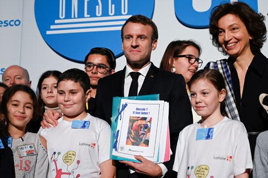 صورة-جماعية-للرئيس-الفرنسى