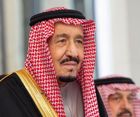 ملك السعودية سلمان بن عبدالعزيز
