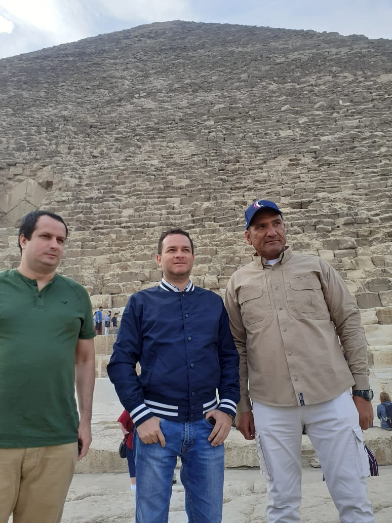 جانب من زيارة وزير التجارة الخارجية والسياحة بدولة بيرو (1)