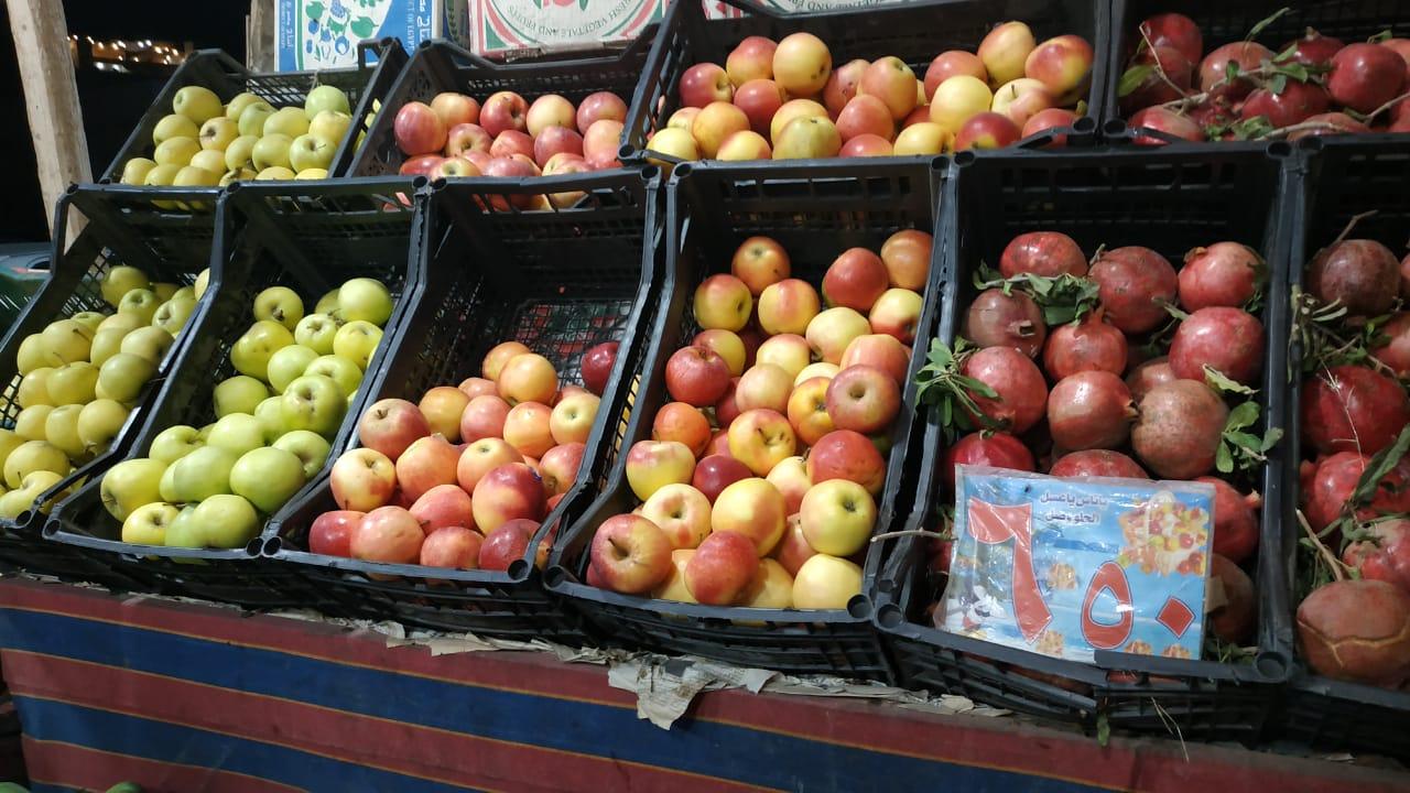 ثبات أسعار الخضروات والفاكهة بعد انخفاضها بأسواق مطروح (2)
