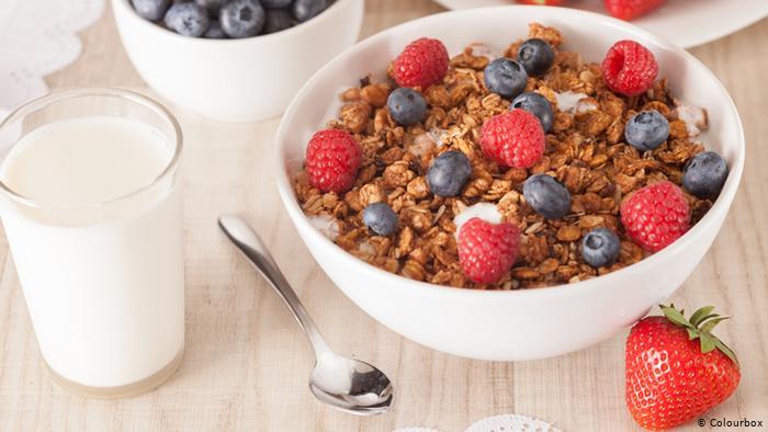 يمكن تناوله مع اللبن او الفواكه فى وجبة الافطار