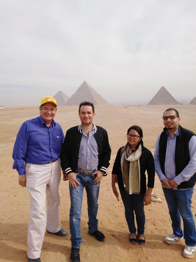 جانب من زيارة وزير التجارة الخارجية والسياحة بدولة بيرو (2)