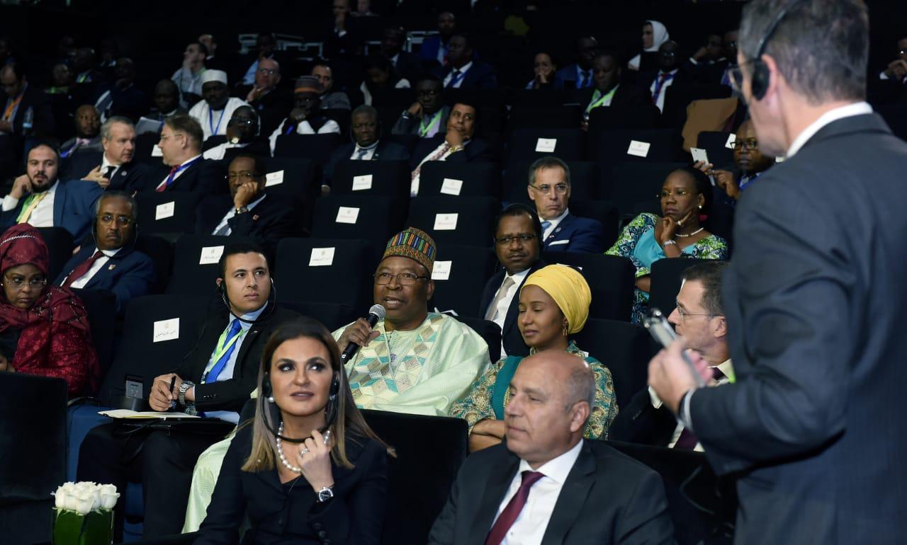 وزيرة الاستثمار تؤكد على أهمية الاستمرار فى الإصلاحات الاقتصادية