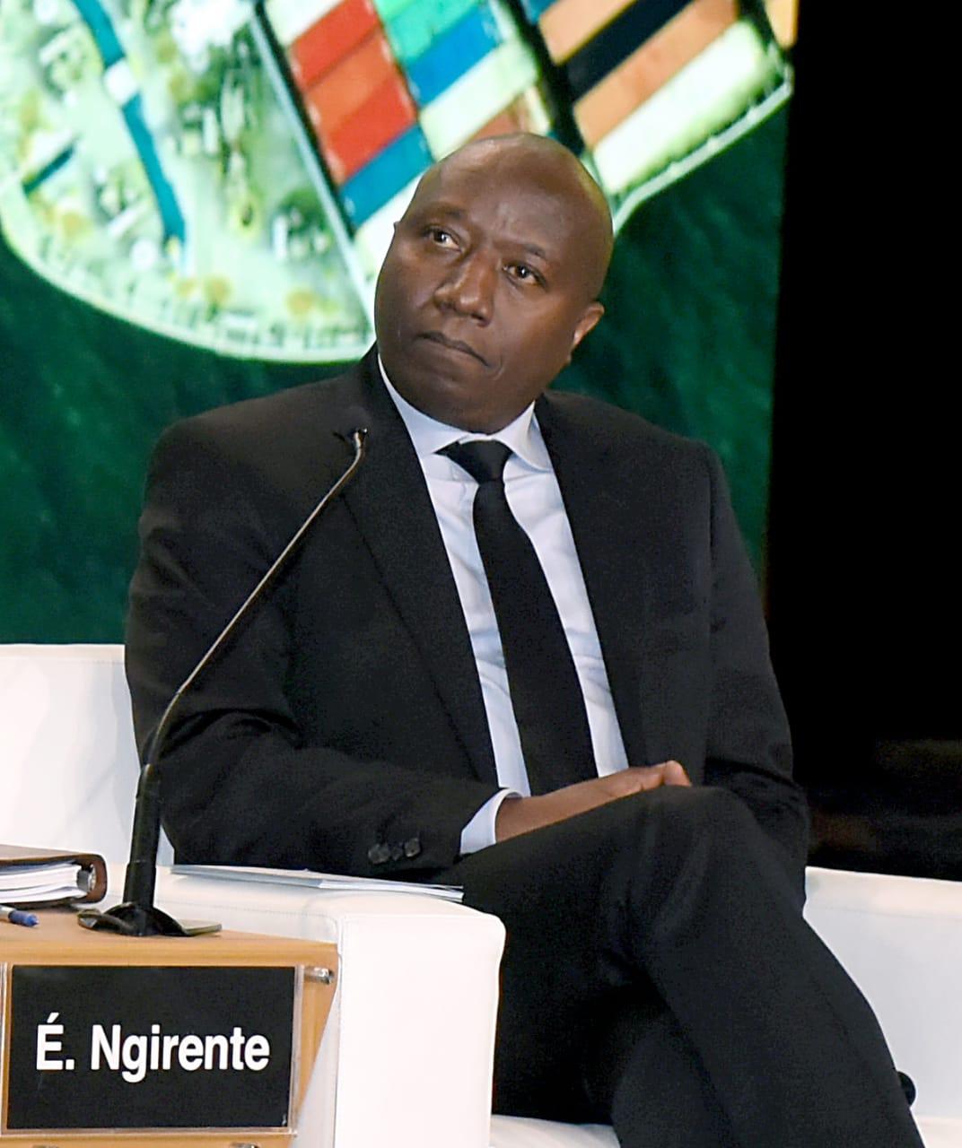 الدكتور ادوارد انجرينتى رئيس وزراء رواندا