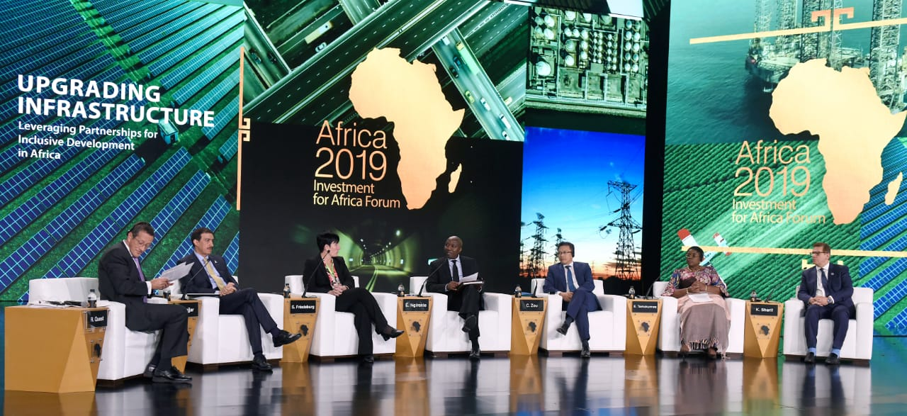 جلسات منتدى افريقيا 2019